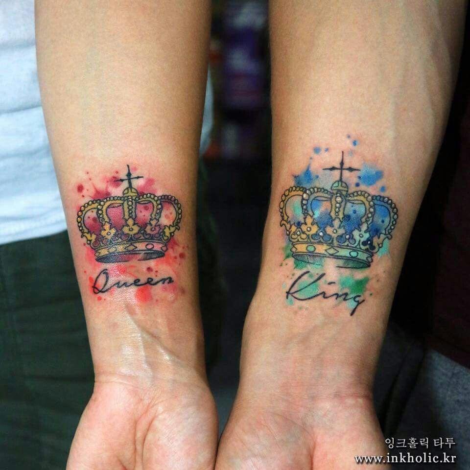 Una Vida Un Amor Coupletattooideas Matching Tattoos Couple
