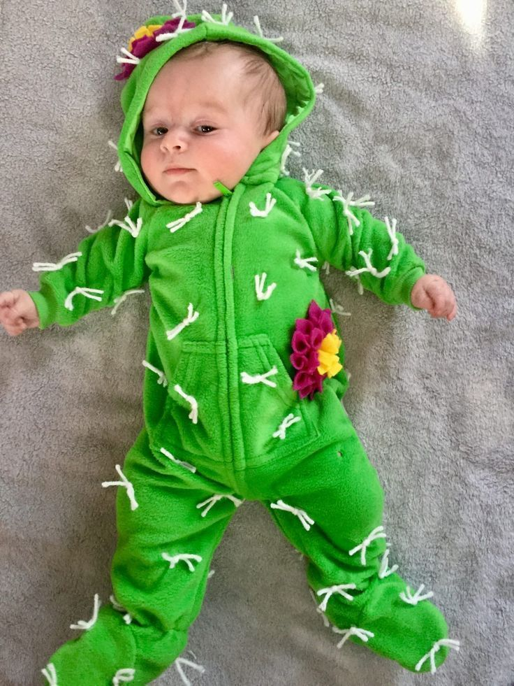 Infant Cactus Costume - Halloween Costume for Infant Baby - Cute ...