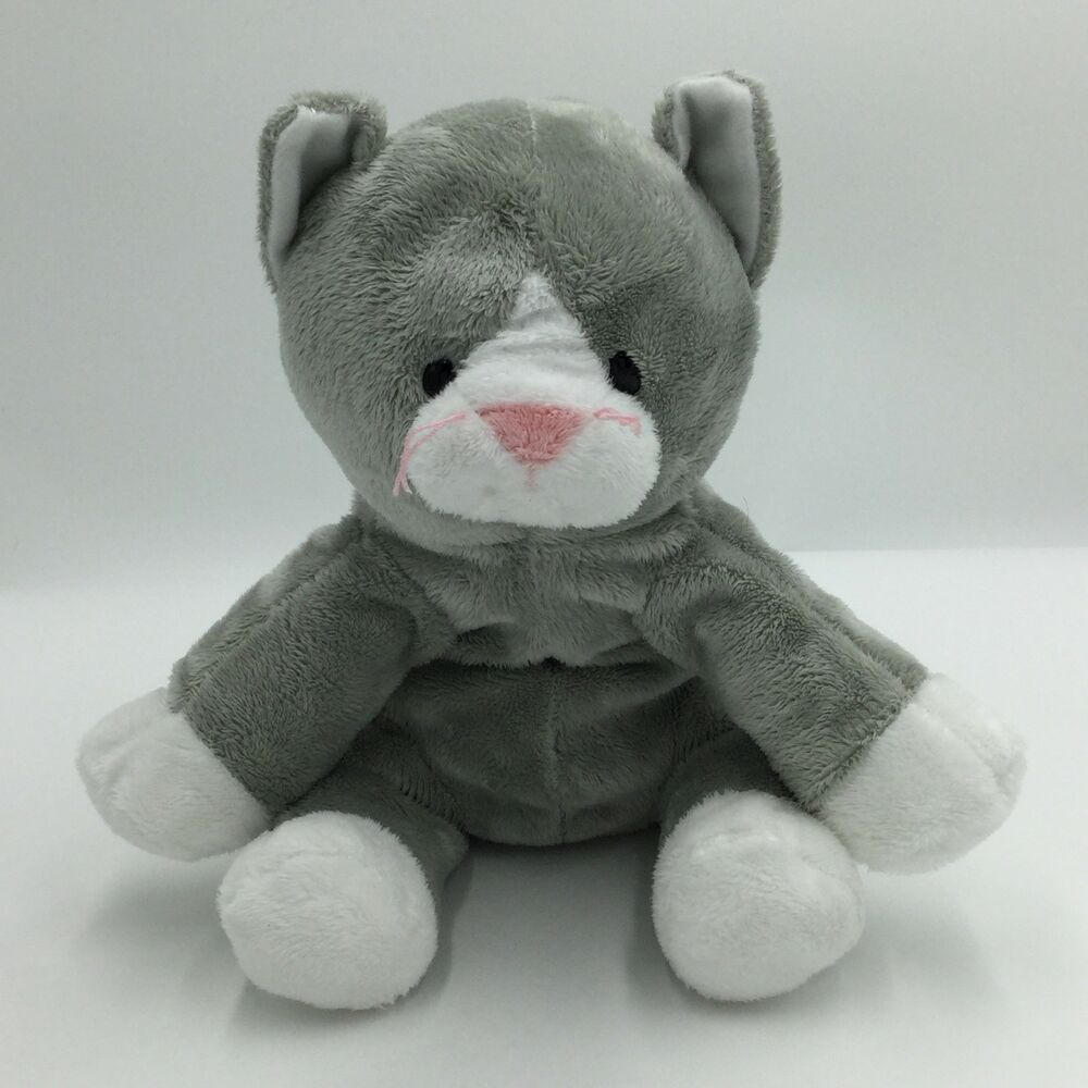 Ty Pursley Pluffies Gray Cat Plush 2010 Soft Toy Stuffed 9 Ty Grey Cat Plush Cat Plush Koala Plush