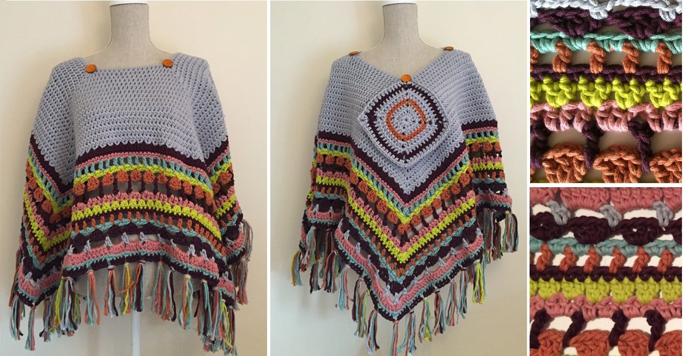 """This beauty was designed to wear draped over one shoulder with the opposite shoulder """"peeking"""" through the slit. The ribbed texture paired with Lion Brand's lovely Landscapes yarn makes it visually appealing furthermore as snug and consider wear. I finished my represent Color Cowl with a beautiful, handmade 2.5″ button. Let's dive into the free pattern shall we?Warm and exquisite cloak is all that we'd like in frosty winter. Pretty styles we will search in web and with patters we will…"""