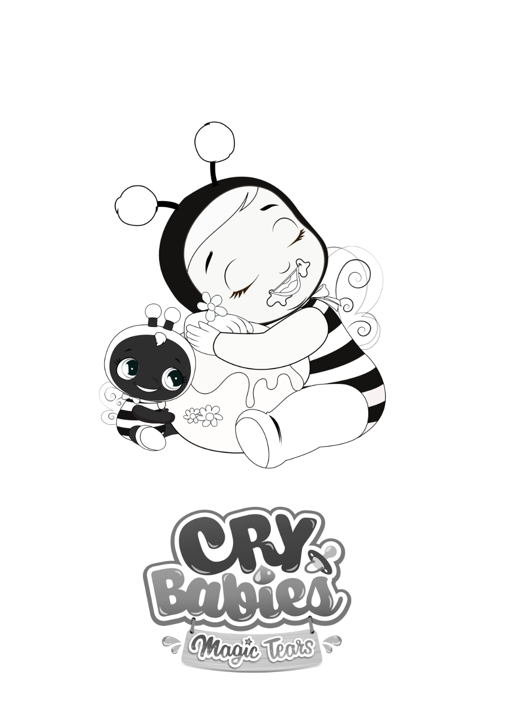Colorions Cry Babies Magic Tears Nel 2020 Disegni Bambini