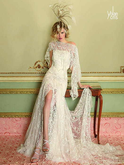 Yolan Cris stunning wedding dress.  1920s / 1930s. SO gorgeous!