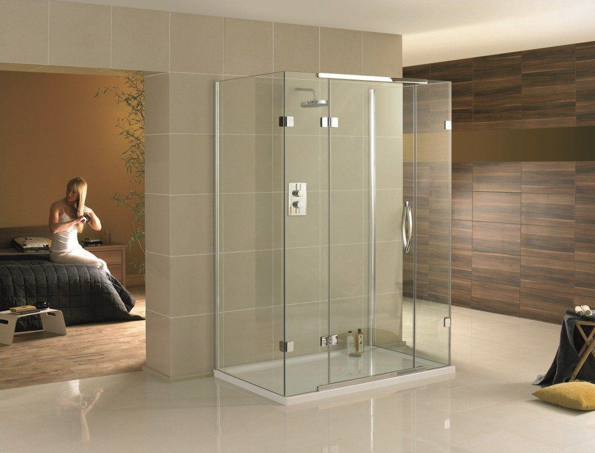Shower With Glass On Three Sides Google Search Shower Cubicles