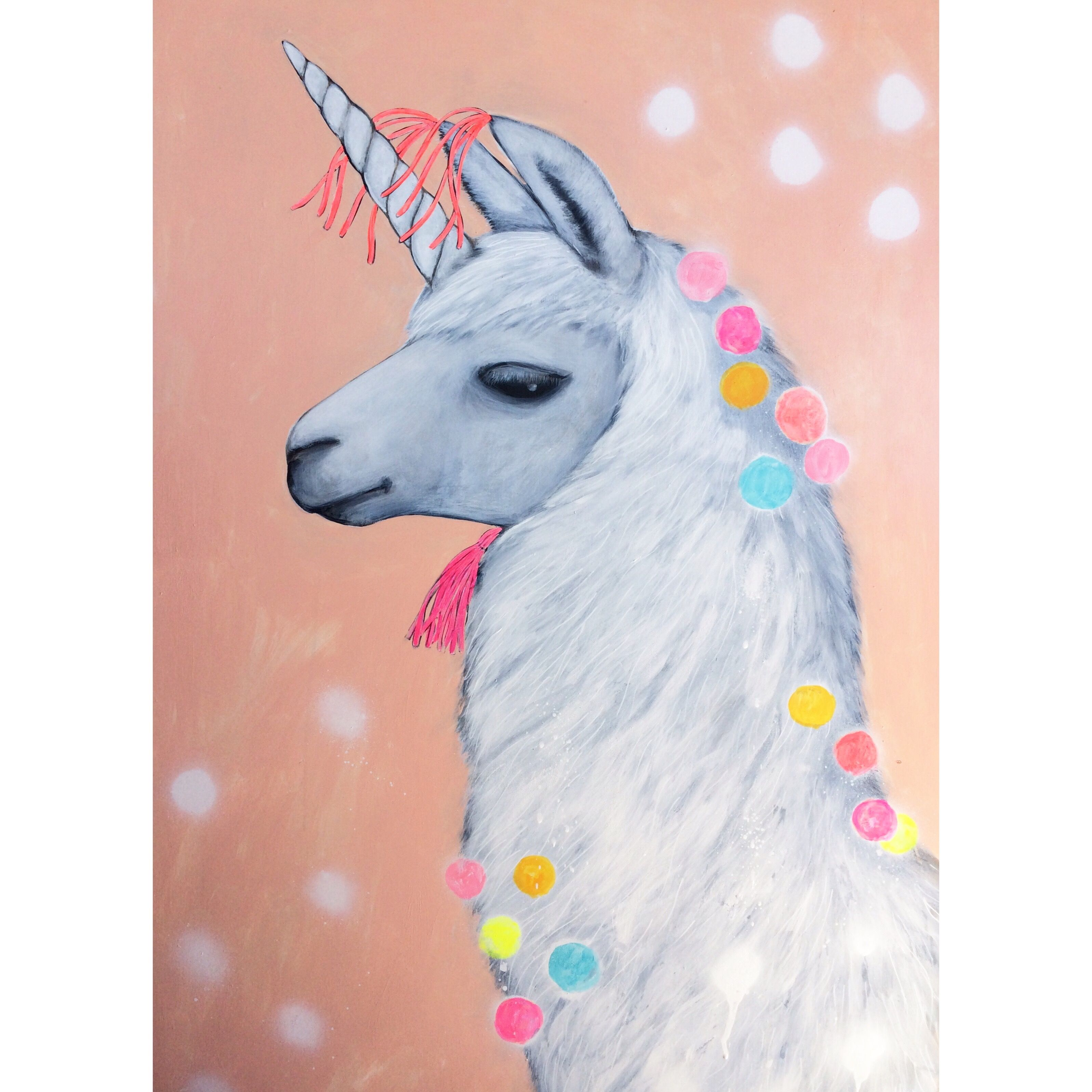 Unicorn Llama aka Llamacorn; 'Come Away With me ...