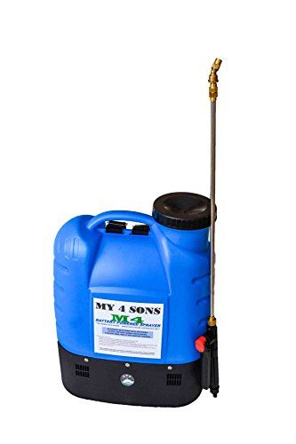 4gallon Battery Powered Backpack Sprayer Wide Mouth With Steel Wand And Brass Nozzle Check Out This Great Product Nozzle Design Hose Nozzle Nozzle