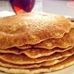Gluten free fluffy pancakes allrecipes gluten free these tall fluffy and gluten free pancakes use gluten free flour and xanthan gum to make pancakes every bit as delicious as the original recipe ccuart Gallery
