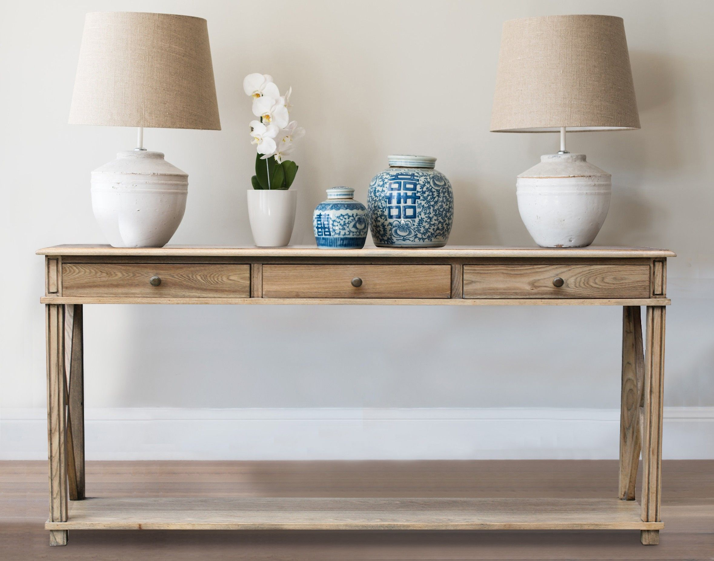 Oak Console Table | home | Pinterest | Console tables, Consoles and ...