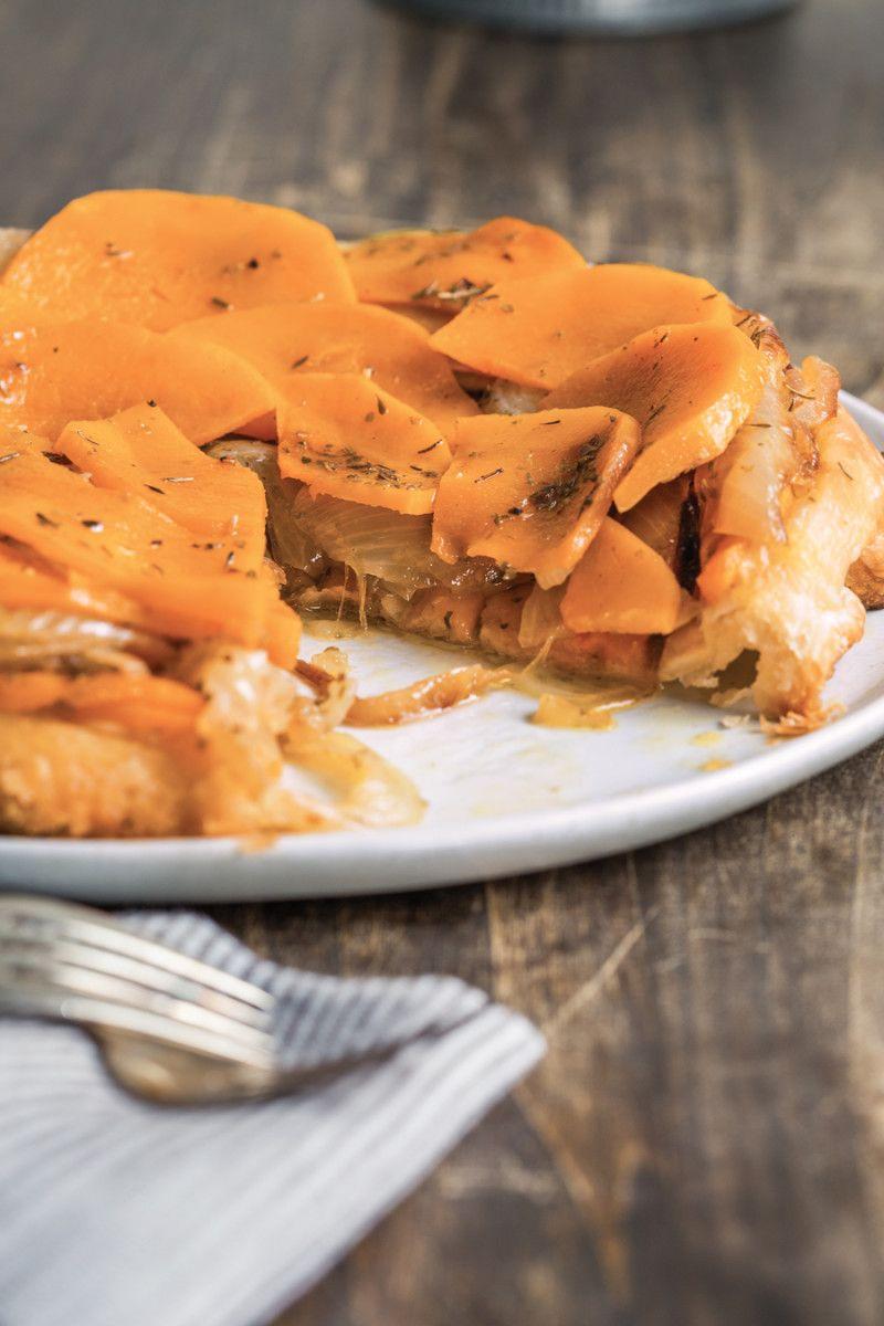 Butternut Squash Tarte Tatin Recipe Vegan Entree Recipes Food