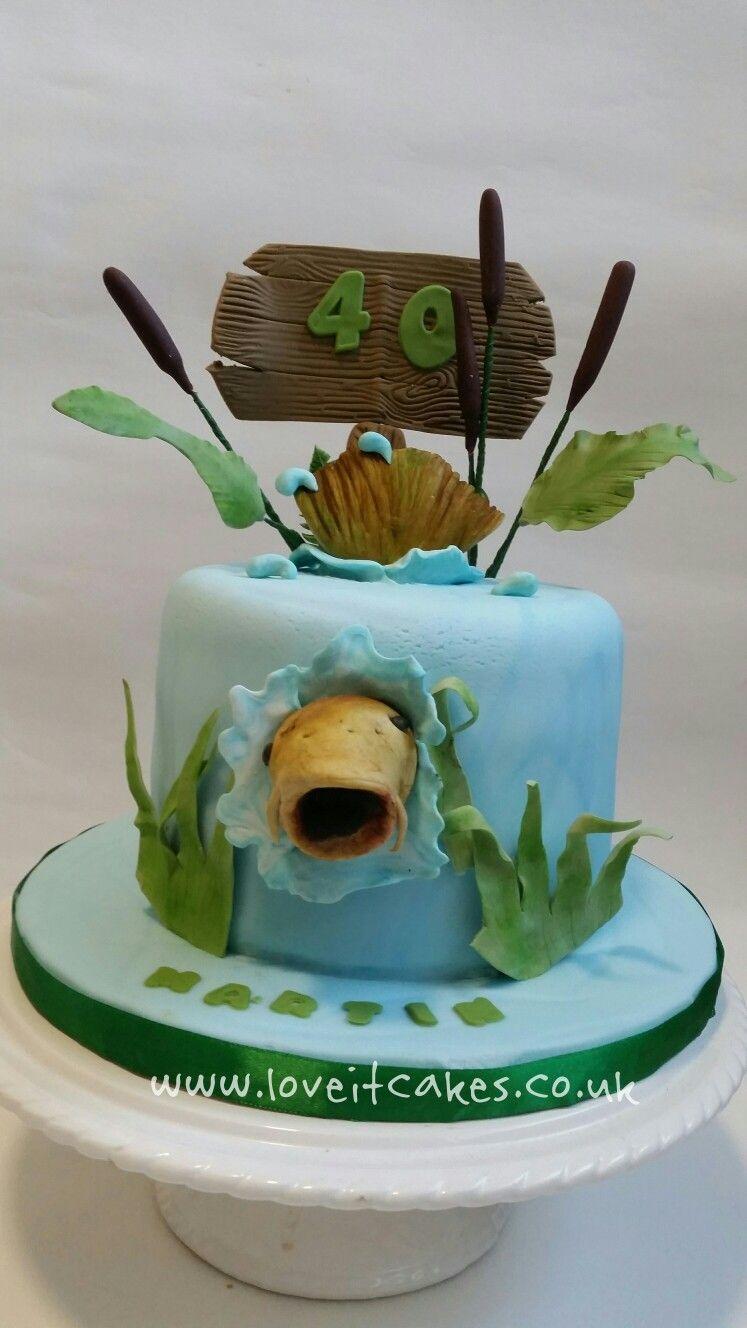 Carp Fishing Cake By Loveitcakes Pastalar Cakes