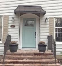 Image Result For Over Door Canopies For Low Pitch Bungalow Cheap Front Doors Front Door Awning Front Door Porch
