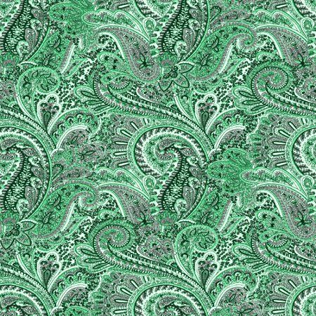Myspace green paisley pattern background seamless background twitter backgrounds wallpaper images background patterns