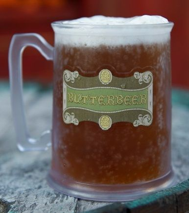 Butterbeer at the Wizarding World of Harry Potter Orlando