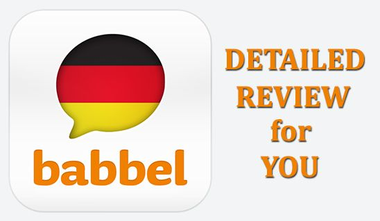Babbel German App Review German language learning, Learn