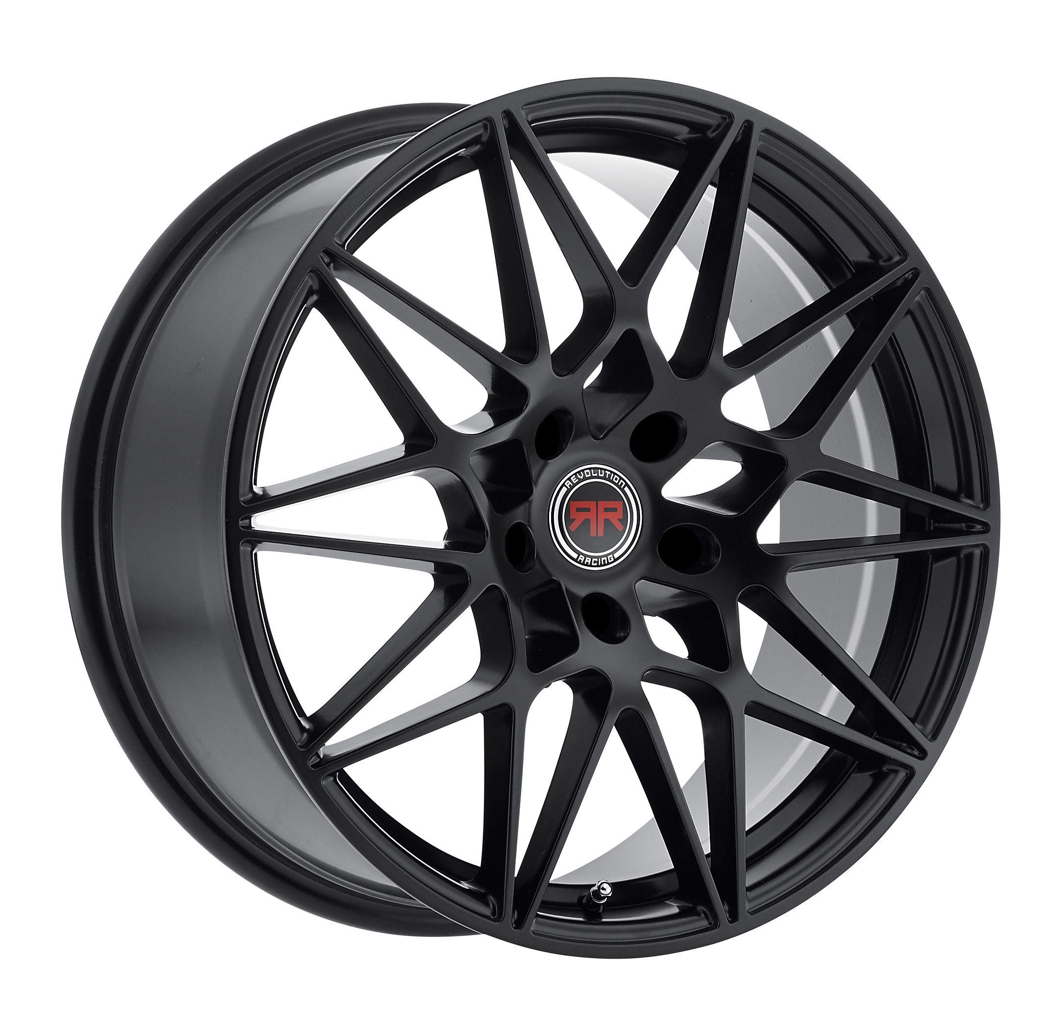 Revolution Racing Wheels RR11 Black Custom Wheels