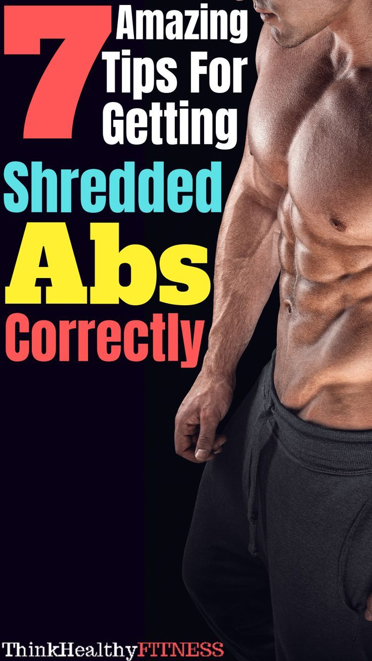 How to train abs properly for a defined sixpack
