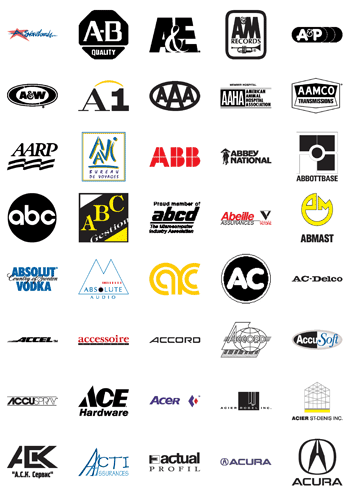 Free Vector Logos Famous Company Logos And Trademarks Letter A Vector Logo Company Logo Logo Quiz