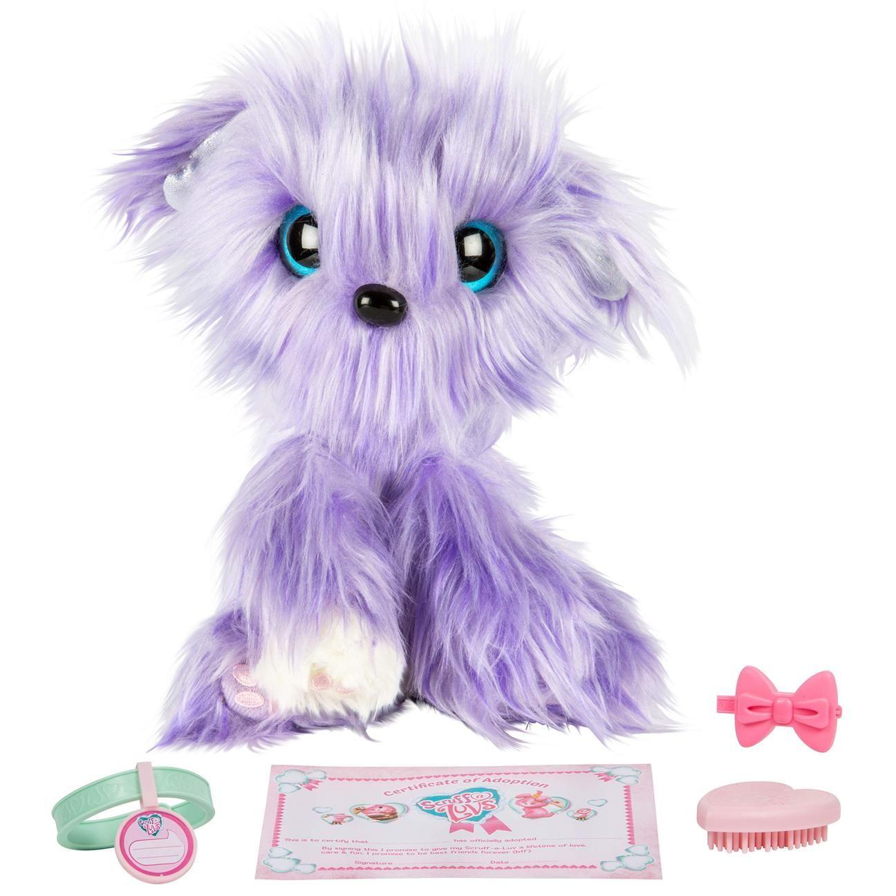 Little Live Scruff A Luvs Plush Mystery Rescue Pet Purple
