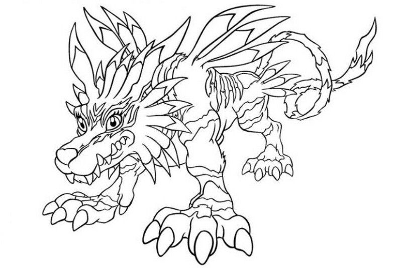 Digimon Coloring Page Coloring Pages Character Art Digimon