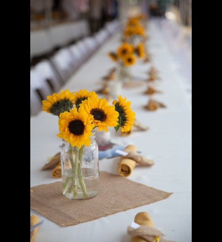 More Sunflowers On The Table