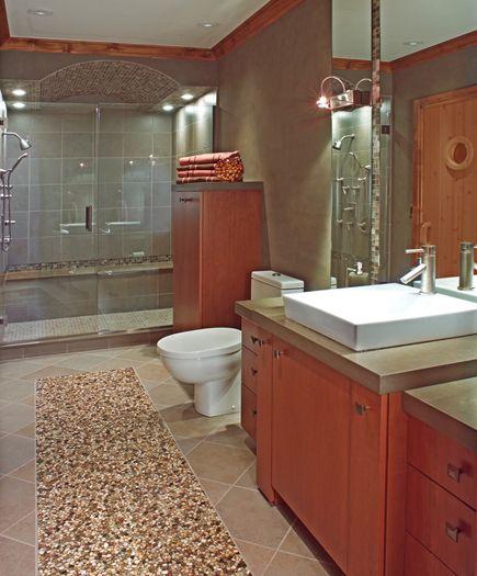 Masculine Master Baths: This Spa Bath Was Designed For A Man-masculine But Neutral