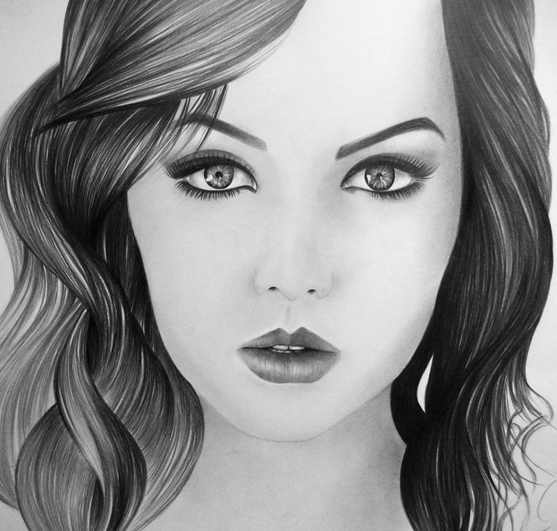 Рисунки карандашом для