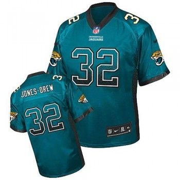 Cheapest Nike Jacksonville Jaguars  32 Maurice Jones-Drew Elite Green Drift Men  NFL Stitched 96f8d0332