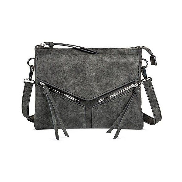58ef6404e7b0 Violet Ray Women s Faux Leather Leanna Crossbody Handbag ( 30) ❤ liked on  Polyvore featuring bags
