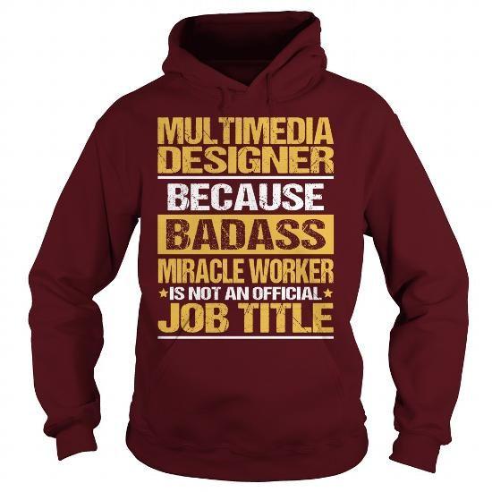 Awesome Tee For Multimedia Designer T Shirts, Hoodie Sweatshirts