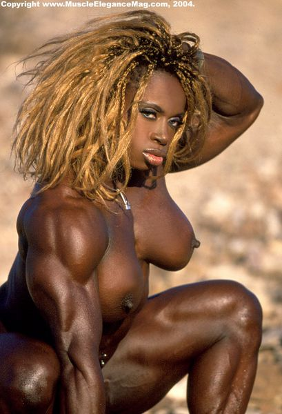 Female Naked Muscle 24