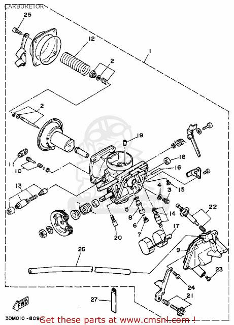Yamaha Verago Carburator Wiring Diagram : Diagram Wiring