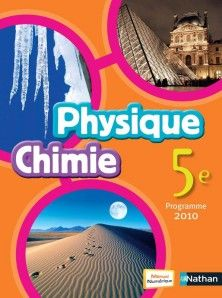 Physique Chimie 5e Livre De L Eleve 9782091717852