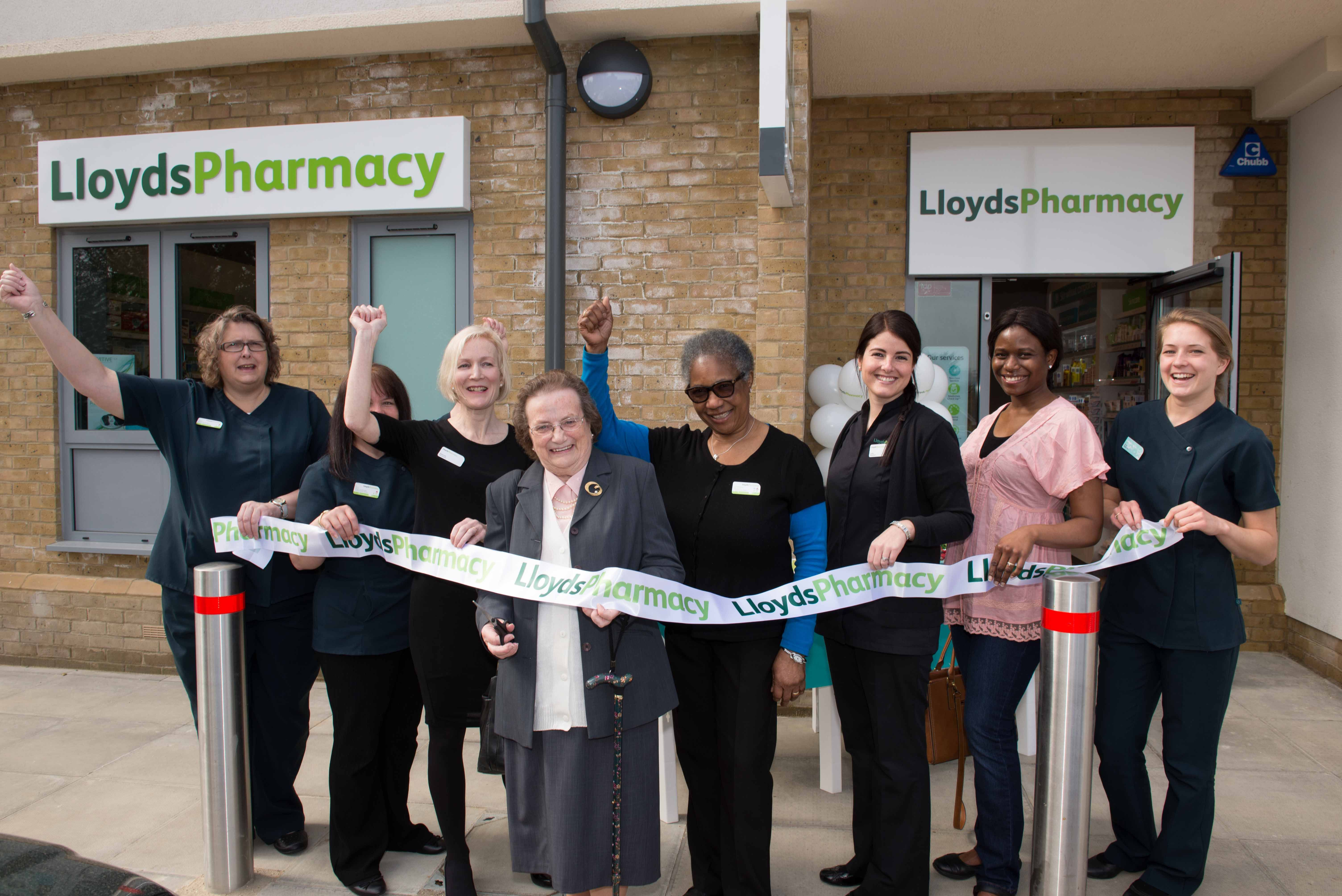 Pin by lloydspharmacy on reinventing health company logo