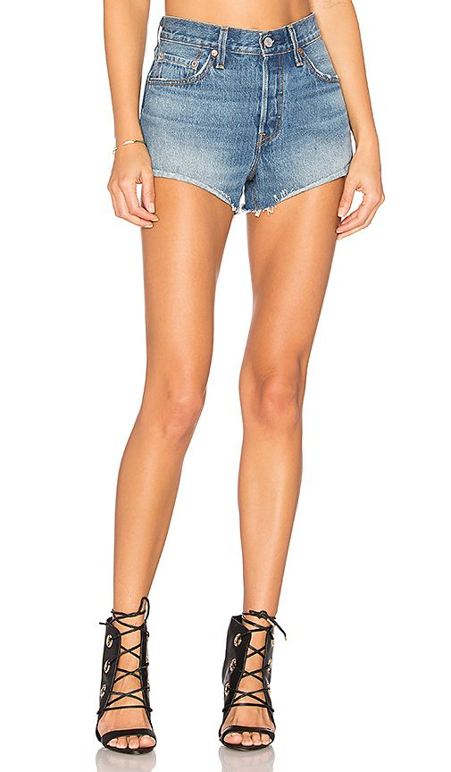 9eed3162 Shop for LEVI'S 501 Short in Blue Explorer at REVOLVE. Free 2-3 day shipping  and returns, 30 day price match guarantee.