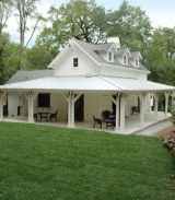 1600 Sq Ft Small Farmhouse From Previous Building On Site Love The Wrap Around Porch