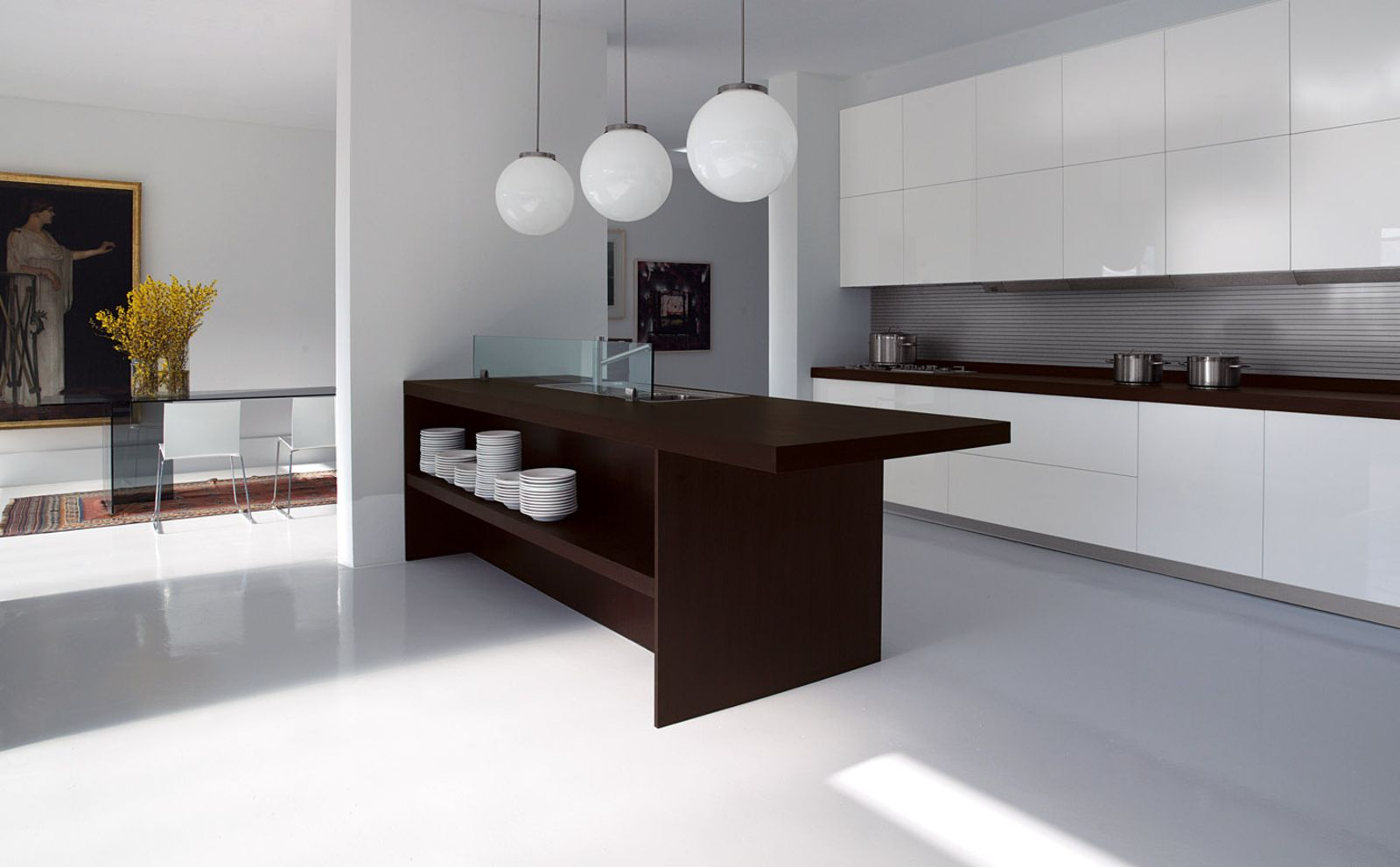Minimalist Contemporary Kitchen Design  Remodel Ideas  Pinterest Interesting Modern Kitchen Design For Small House Decorating Inspiration