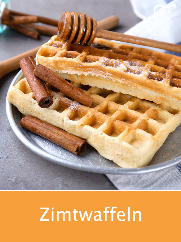 Photo of These waffles with a hint of cinnamon simply taste good and are quick to …