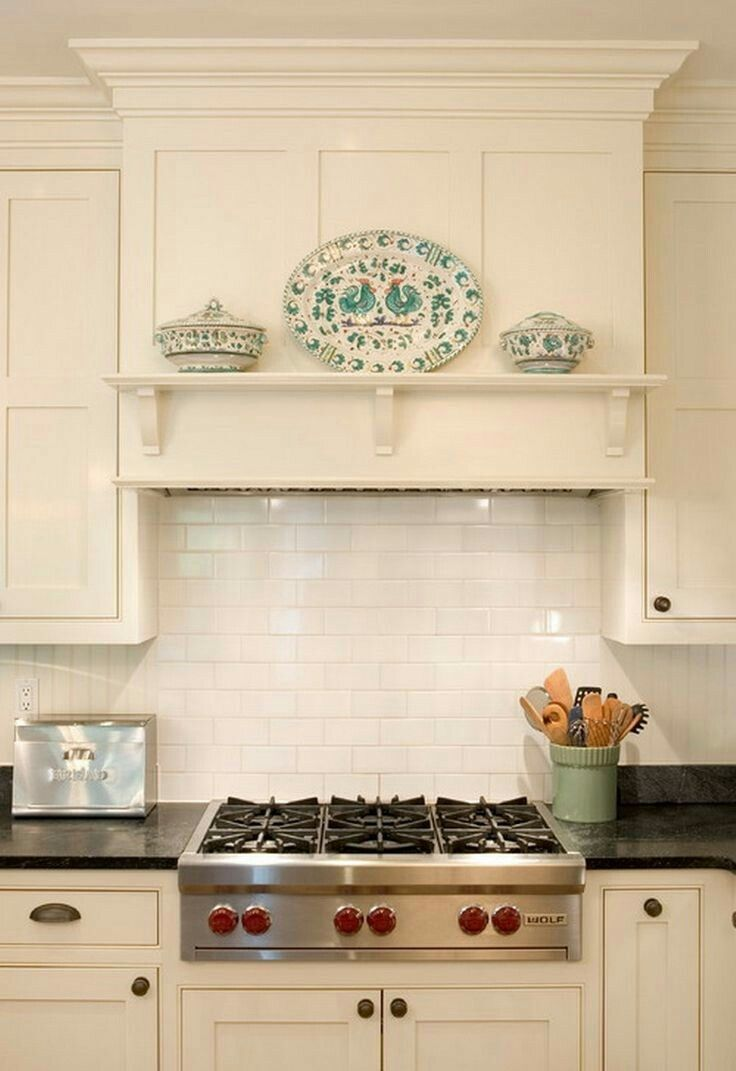 Canopy Idea With Shelf And Three Corbels Find Similar Small Corbels For Sale Online At Www Buycarvings Custom Kitchen Remodel Kitchen Vent Kitchen Range Hood