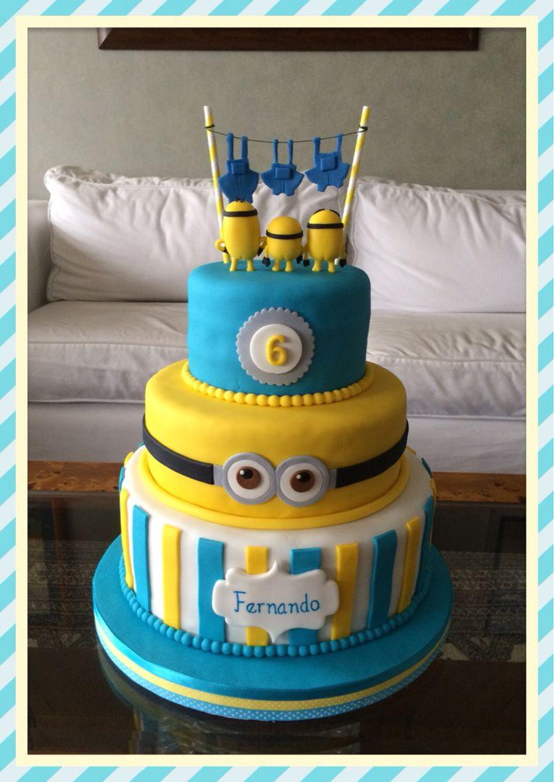 Naked minions cake by lima peru cumplea os pinterest minion - Cake decorations minions ...