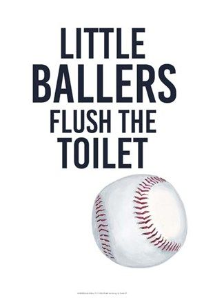 Little Ballers : little, ballers, Little, Ballers, Studio, Sports, Print,, Prints,, Print, Display