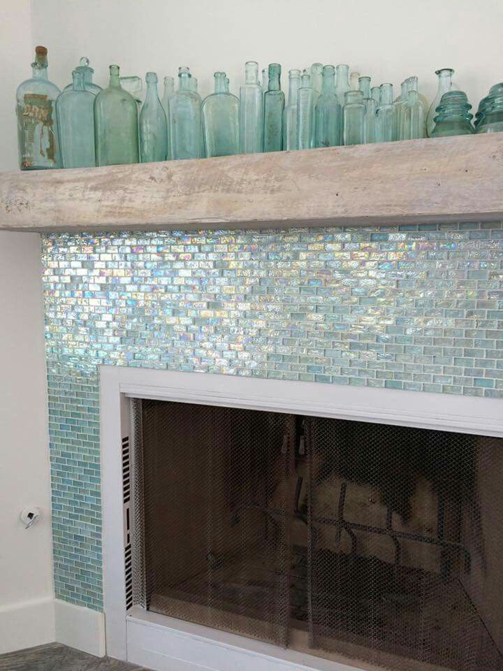 Fish Scale Look Tiles For The Bathroom Fireplace Kitchen Backsplash
