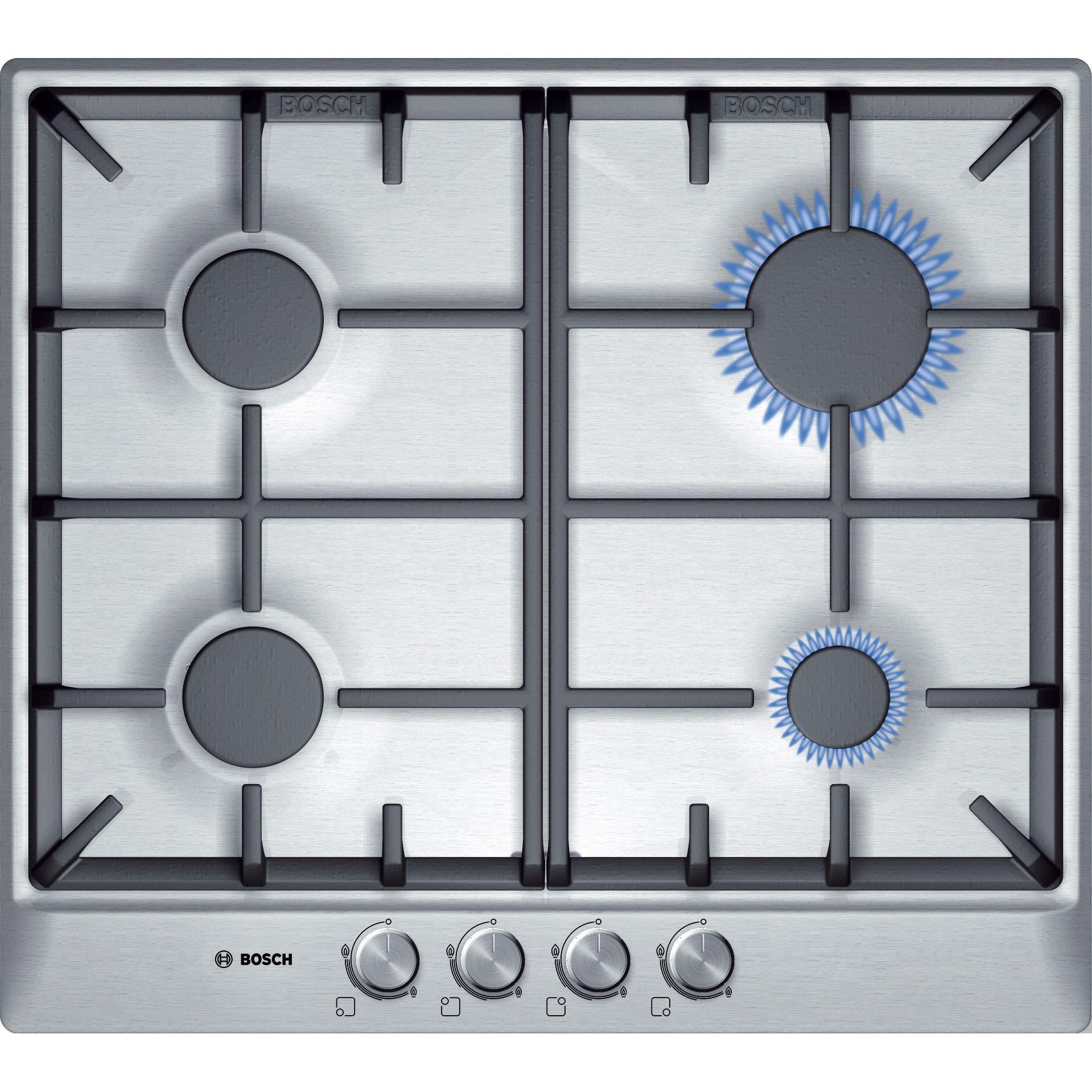Bosch PCP615B90E reprezintă un model accesibil de plită încorporabilă pe gaz, un aparat electrocasnic eficient, potrivit perfect oricarui stil de bucătărie. Este un produs cu alimentare pe gaz, ce dispune de 4 arzătoare de diferite …