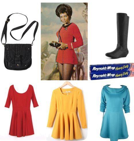 a very geek chic halloween 10 geeky diy costume ideas - Uhura Halloween Costume