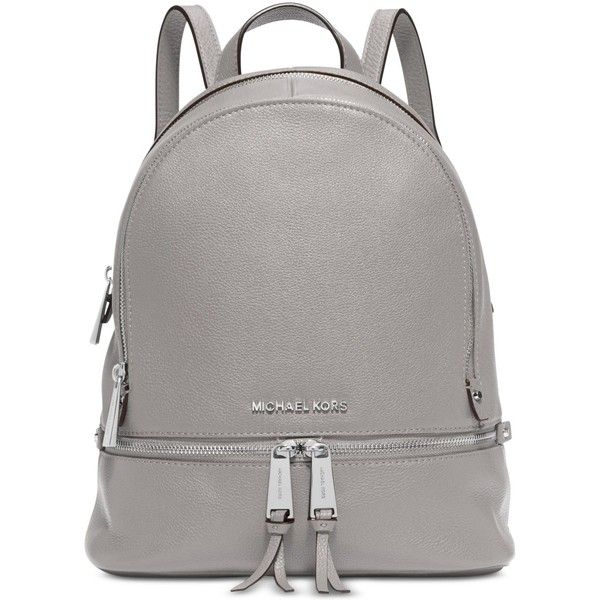 d3f134786bdb Michael Michael Kors Rhea Zip Small Backpack ( 298) ❤ liked on Polyvore  featuring bags