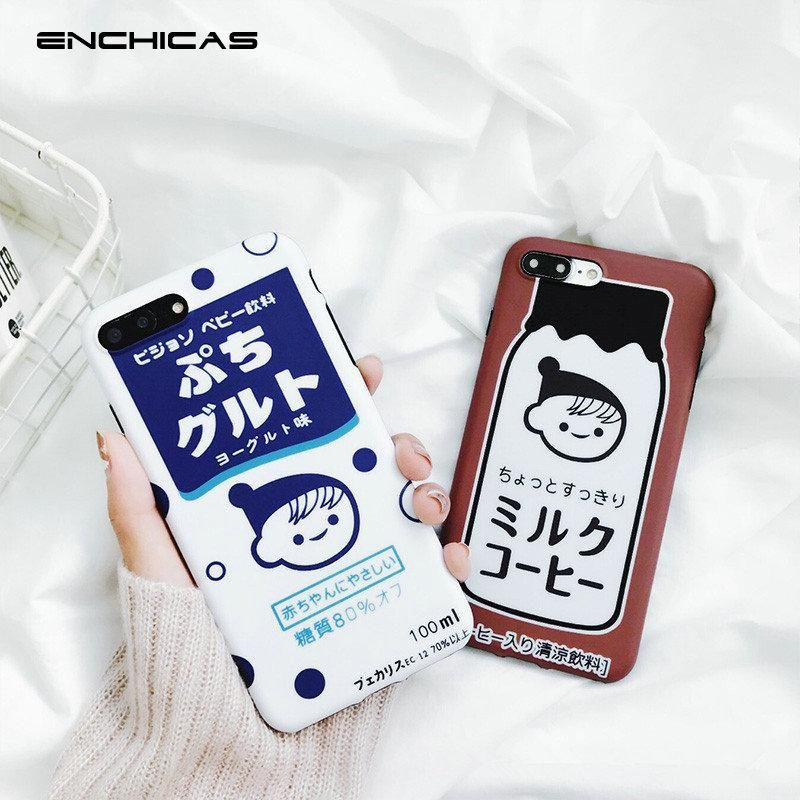 big sale 835bc 997b7 Japanese Milk iPhone Case in 2019 | accesories | Iphone cases, Cell ...