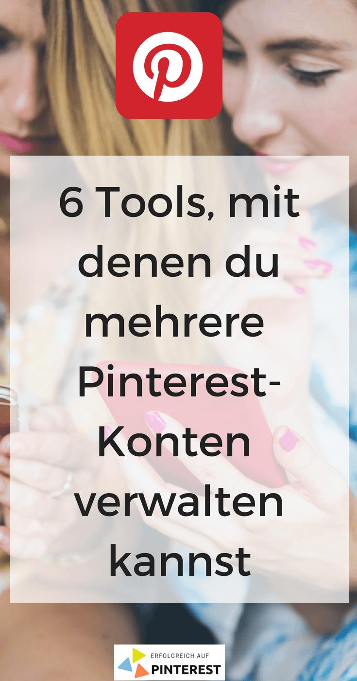 ToolTipp Mehrere PinterestKonten verwalten Pinterest