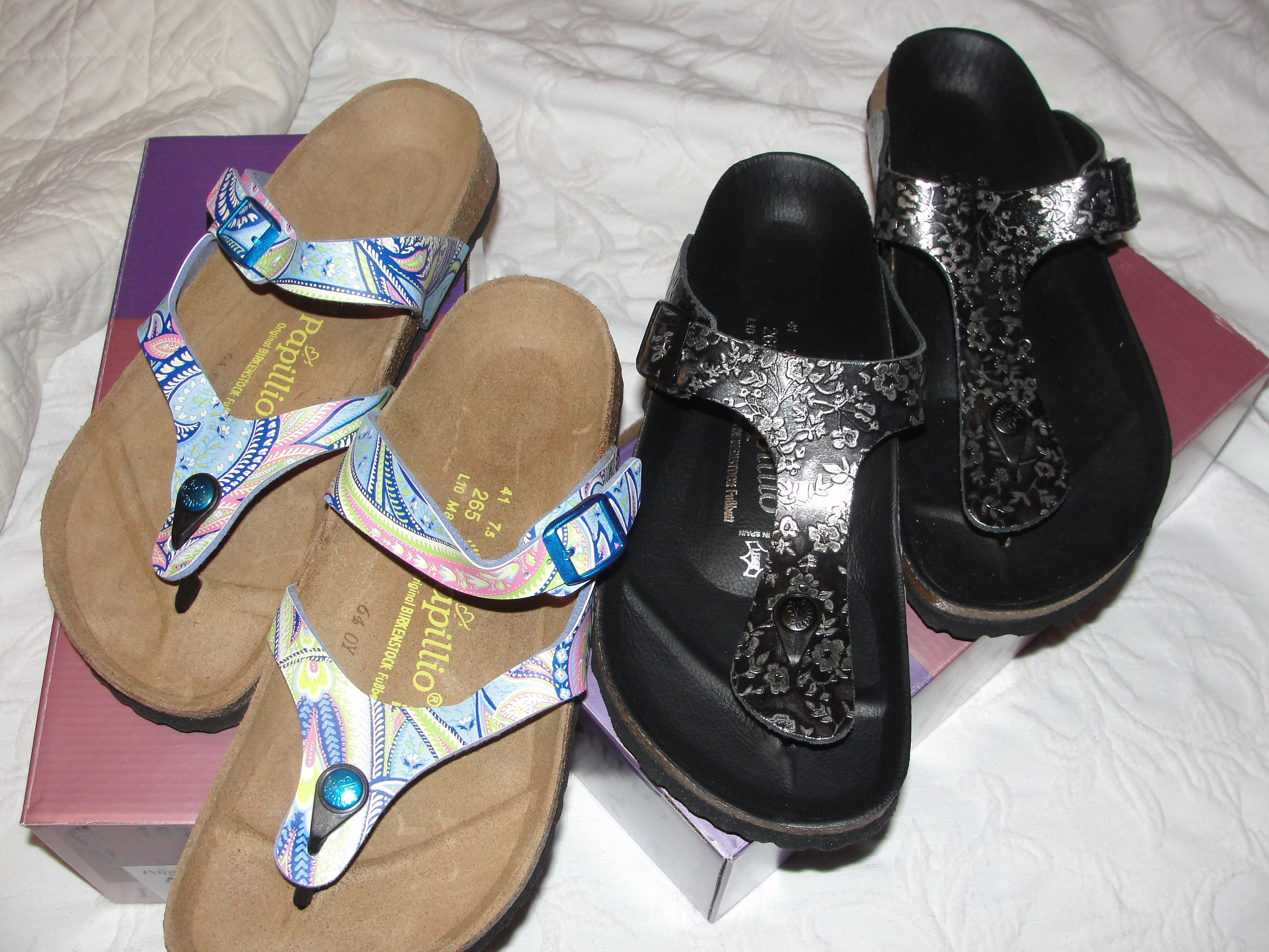 my two newest pairs May 2012