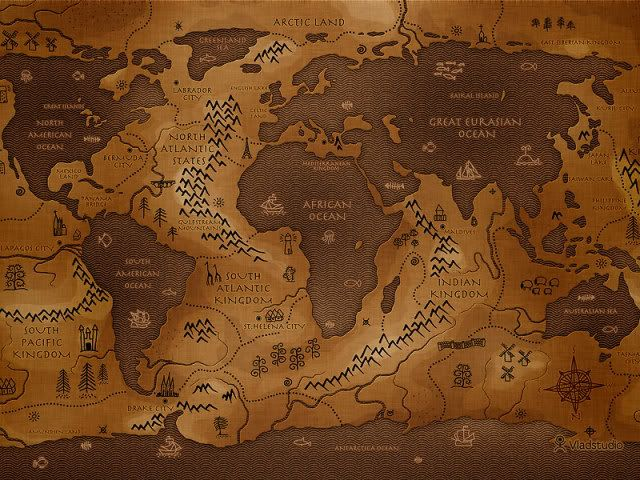 fantasy map alternate world what if Maps