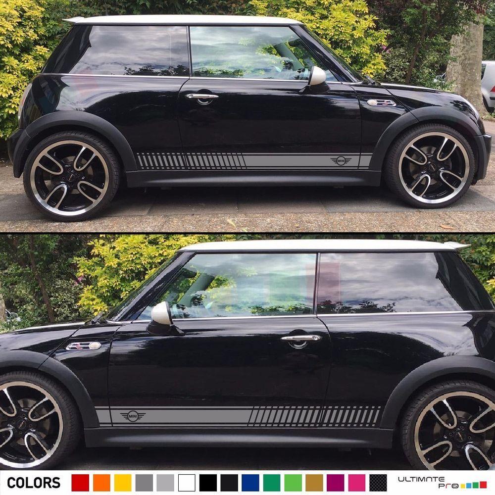 Sticker Graphic Decal Stripe For Mini Cooper S Hatch Lamp Light Skirt Spoiler Mini Cooper Mini Cooper S Mini