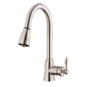 Danze DD454510SS Prince Pull-Out Spray Kitchen Faucet - Stainless Steel