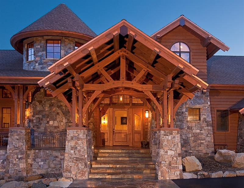This Entry Way Is Amazing Post And Beam Is My Favorite